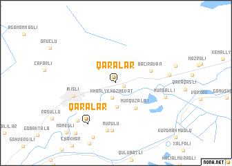 map of Qaralar