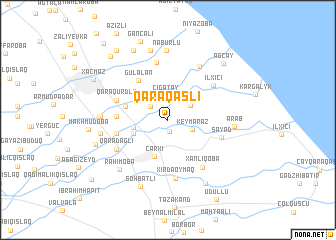 map of Qaraqaşlı