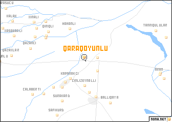 map of Qaraqoyunlu