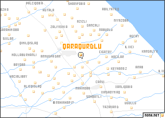 map of Qaraqurdlu
