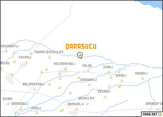 map of Qarasuçu