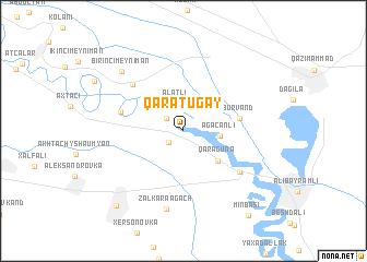 map of Qaratuğay