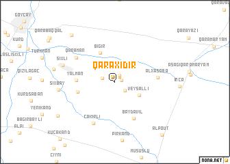 map of Qaraxıdır
