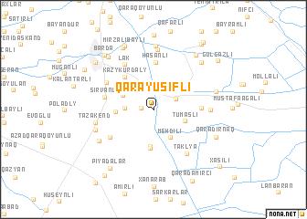 map of Qarayusifli