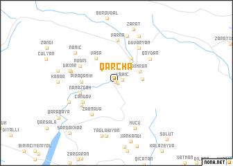 map of Qǝrchǝ