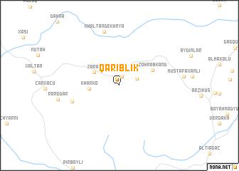 map of Qǝriblik