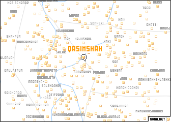 map of Qāsim Shāh