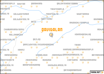 map of Qavī Dalan