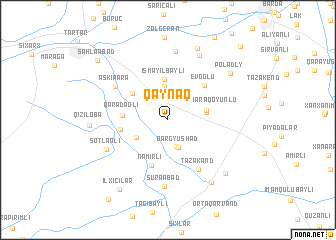 map of Qaynaq