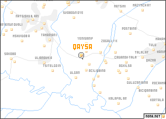 map of Qaysa