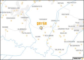 map of Qaysa