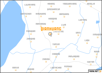 map of Qianhuang