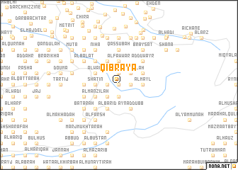 map of Qibrāyā