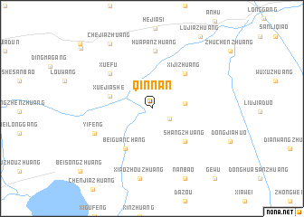map of Qinnan