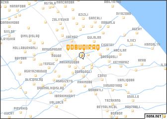 map of Qobuqıraq