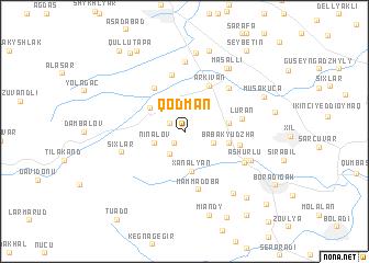 map of Qodman