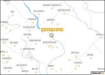 map of Qonaqkǝnd