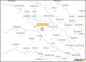 map of Qoşasu