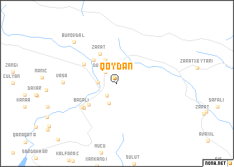 map of Qoydan
