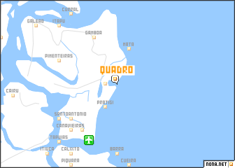 map of Quadro