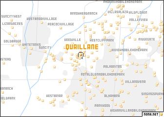 map of Quail Lane
