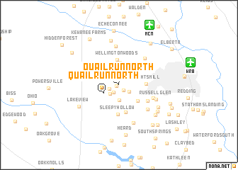 map of Quail Run North