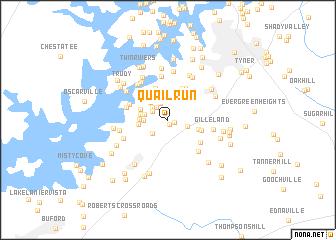map of Quail Run