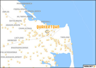 map of Quakertown