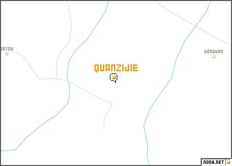 map of Quanzijie