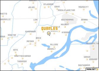 map of Quarles