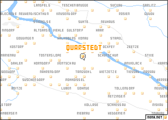 map of Quarstedt
