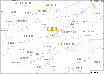 map of Quba