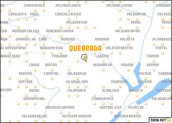 map of Quebrada