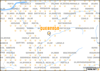 map of Quebrada