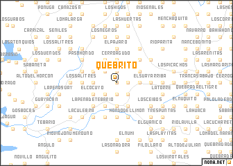 map of Quebrito