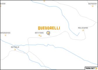 map of Queddaelli