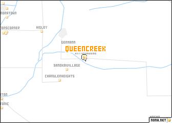 map of Queen Creek