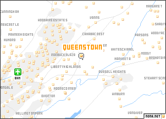 map of Queenstown