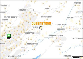 map of Queenstown