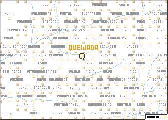 map of Queijada