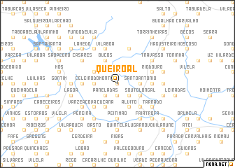 map of Queiroal