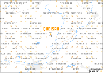 map of Queisau