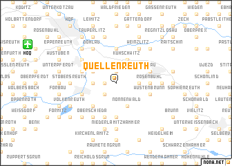 map of Quellenreuth