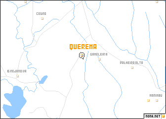 map of Querema