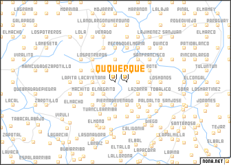 map of Querqué