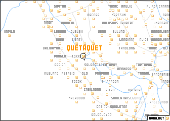map of Quetaquet