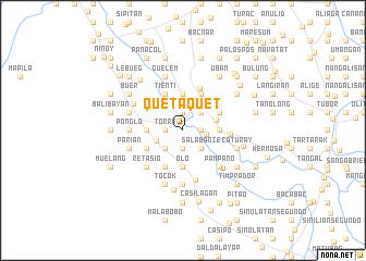 map of Quetaquet