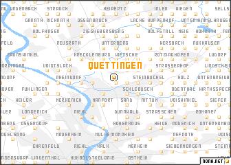 map of Quettingen