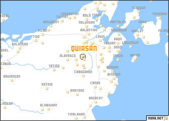 map of Quiasan