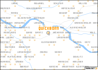 Quickborn Germany Map Nonanet - Quickborn germany map